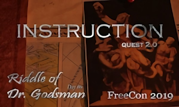 Instruction || Riddle of Dr. Godsman. Quest 2.0